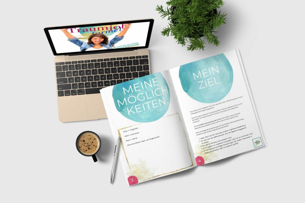 kostenloses Workbook - in 5 Schritten zum Traumjob
